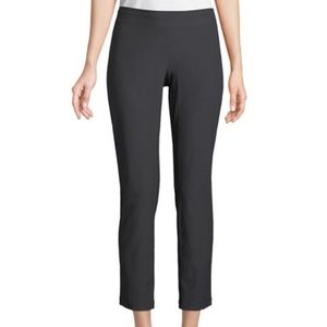 Eileen Fisher Grey Crepe Ankle Pants